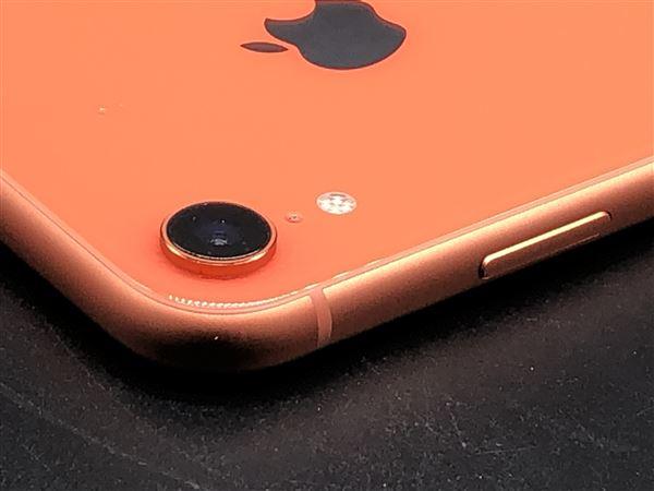 【中古】【安心保証】 iPhoneXR[64GB] SIMロック解除 docomo コーラル