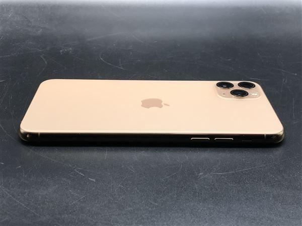 【中古】【安心保証】 iPhone11 Pro Max[64GB] SoftBank MWHG2J ゴールド