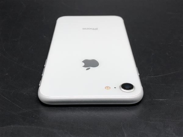 【中古】【安心保証】 iPhone8[256GB] SIMロック解除 au シルバー