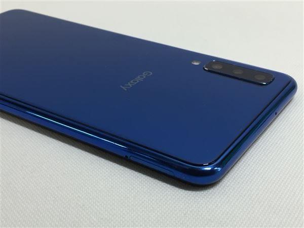 【中古】【安心保証】 楽天モバイル Galaxy A7 ブルー