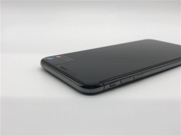 【中古】【安心保証】 iPhoneXSMax[64GB] SIMロック解除 au スペースグレイ