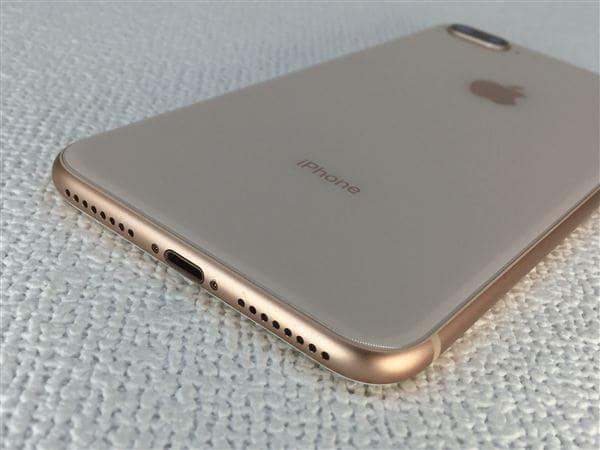【中古】【安心保証】 iPhone8Plus[64GB] SIMロック解除 docomo ゴールド