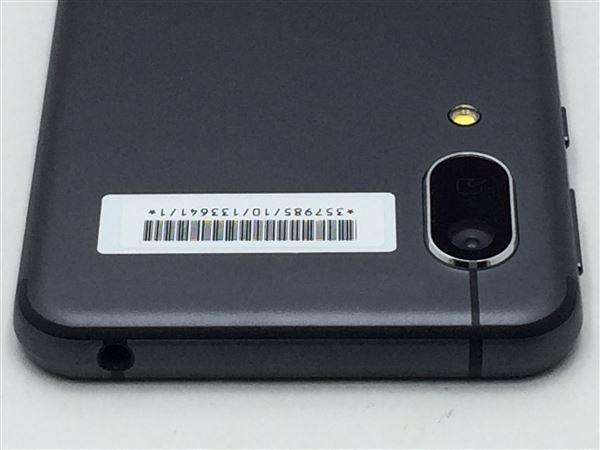 【中古】【安心保証】 Y!mobile Android One S7 ブラック