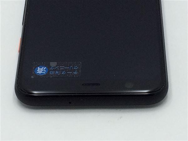 【中古】【安心保証】 SoftBank Pixel 4[64G] クリアリーホワイト