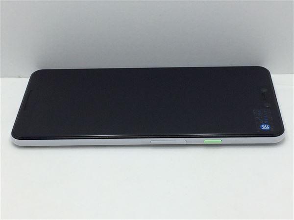 【中古】【安心保証】 SIMフリー Pixel 3XL[64G] クリアリーホワイト