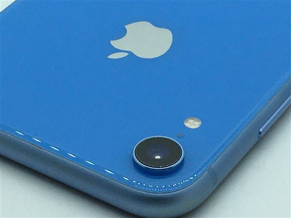 【中古】【安心保証】 iPhoneXR[64GB] docomo MT0E2J ブルー
