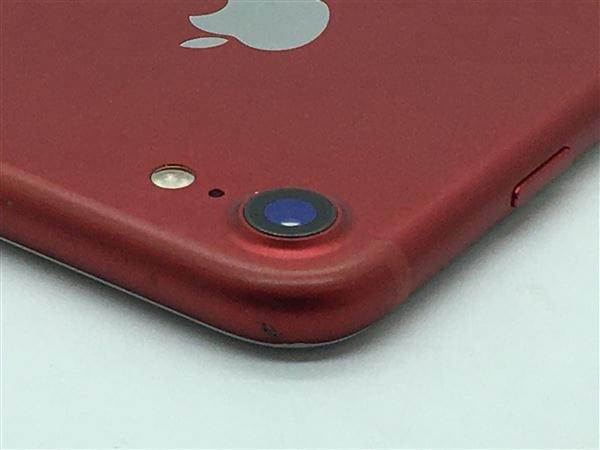 【中古】【安心保証】 iPhone7[128GB] docomo MPRX2J レッド