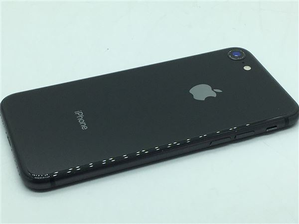 【中古】【安心保証】 iPhone8[64GB] docomo MQ782J スペースグレイ