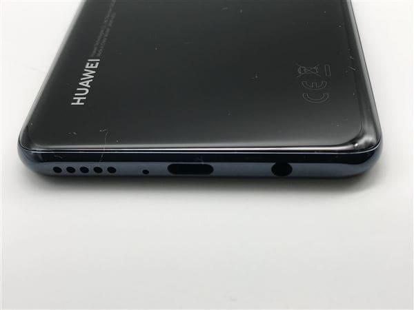 【中古】【安心保証】 Y!mobile HUAWEI P30 lite ミッドナイトブラック