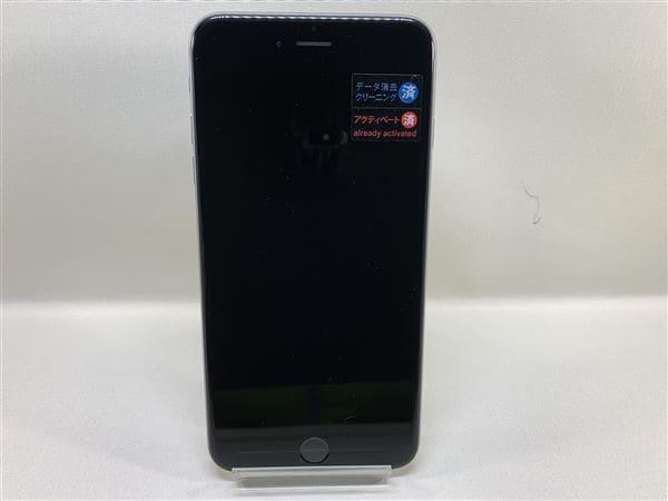 【中古】【安心保証】 au iPhone6Plus[16G] スペースグレイ