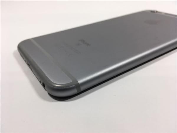 【中古】【安心保証】 iPhone6sPlus[16GB] au MKU12J スペースグレイ
