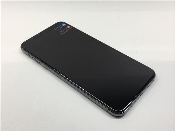 【中古】【安心保証】 iPhoneXSMax[256GB] docomo MT6U2J スペースグレイ