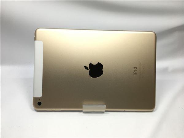【中古】【安心保証】 iPadmini4 7.9インチ[16GB] セルラー au ゴールド