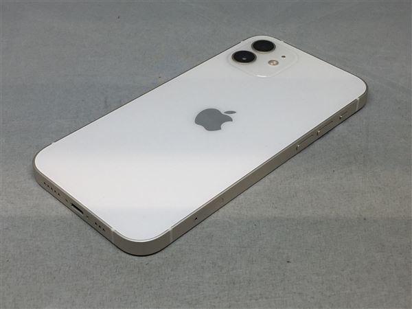 【中古】【安心保証】 iPhone12[64GB] docomo MGHP3J ホワイト