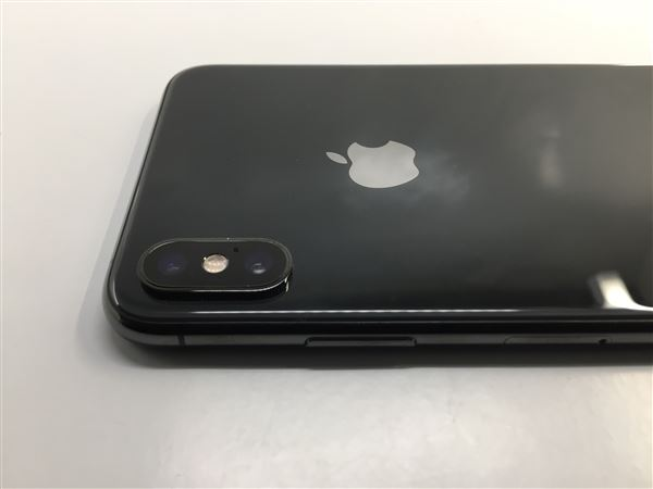 【中古】【安心保証】 iPhoneXSMax[512GB] SIMロック解除 docomo スペースグレイ