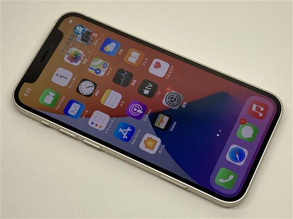 【中古】【安心保証】 iPhone12mini[128GB] docomo MGDM3J ホワイト