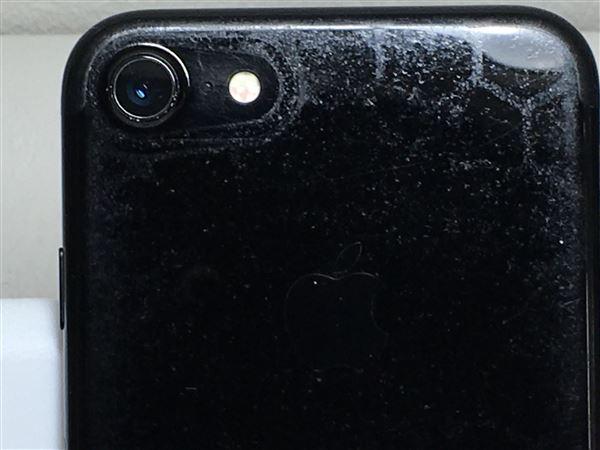 【中古】【安心保証】 iPhone7[128GB] docomo MNCP2J ジェットブラック