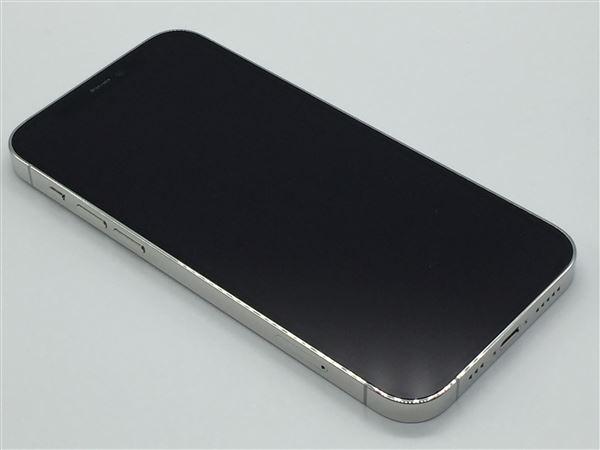 【中古】【安心保証】 iPhone12Pro[128GB] SIMロック解除 au シルバー
