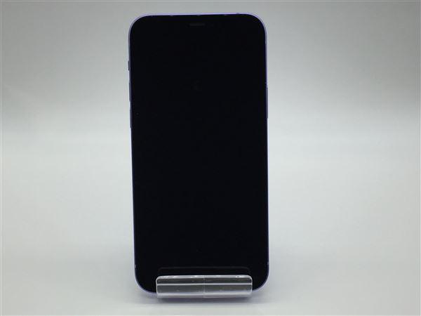 【中古】【安心保証】 iPhone12[128GB] SIMロック解除 au パープル