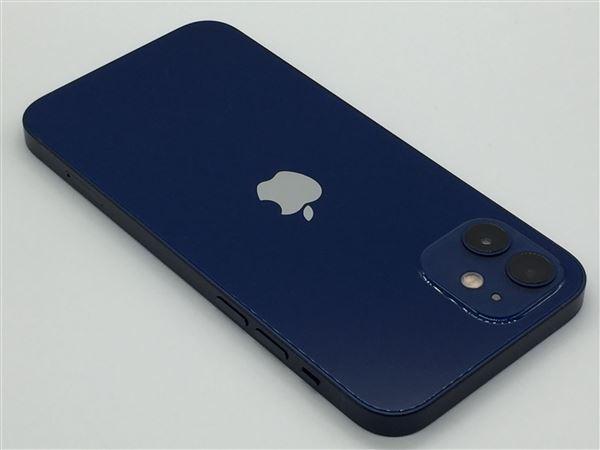 【中古】【安心保証】 iPhone12[128GB] SIMロック解除 UQモバイル ブルー