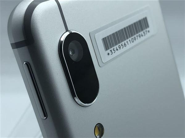 【中古】【安心保証】 UQモバイル SHV48 シルバー