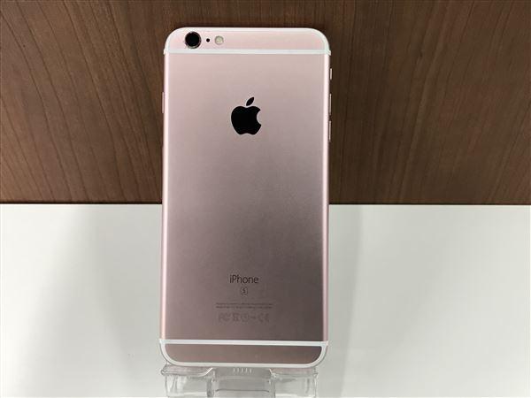 【中古】【安心保証】 iPhone6sPlus[64GB] au MKU92J ローズゴールド