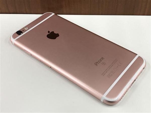 【中古】【安心保証】 docomo iPhone6s[64G] ローズゴールド
