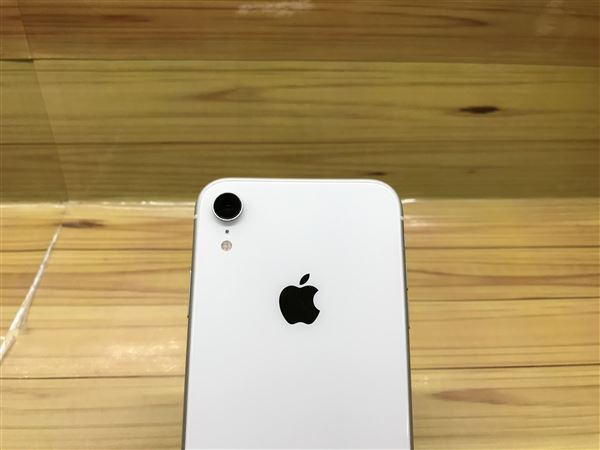 【中古】【安心保証】 iPhoneXR[256GB] SIMロック解除 au ホワイト