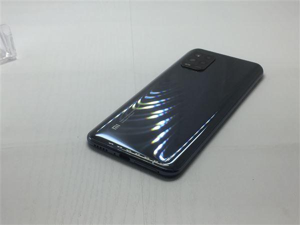 【中古】【安心保証】 au Mi 10 Lite [128GB] (5G) コズミックグレー