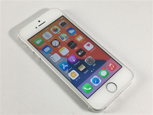 【中古】【安心保証】 iPhoneSE[16GB] docomo NLLP2J シルバー