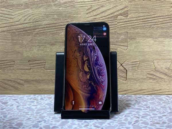 【中古】【安心保証】 iPhoneXS[64GB] docomo MTAY2J ゴールド