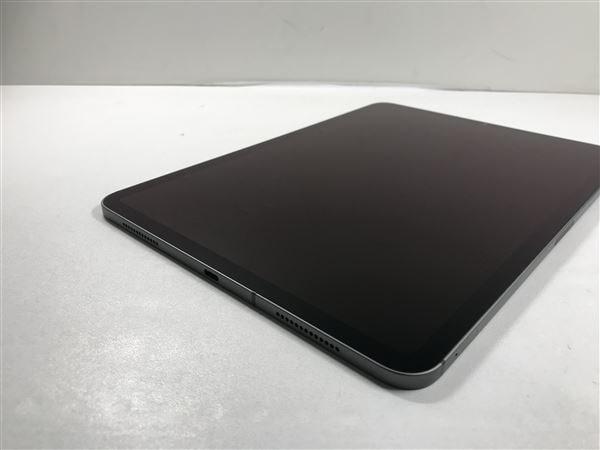 【中古】【安心保証】 iPadPro 11インチ 第2世代[512GB] セルラー au スペースグレイ
