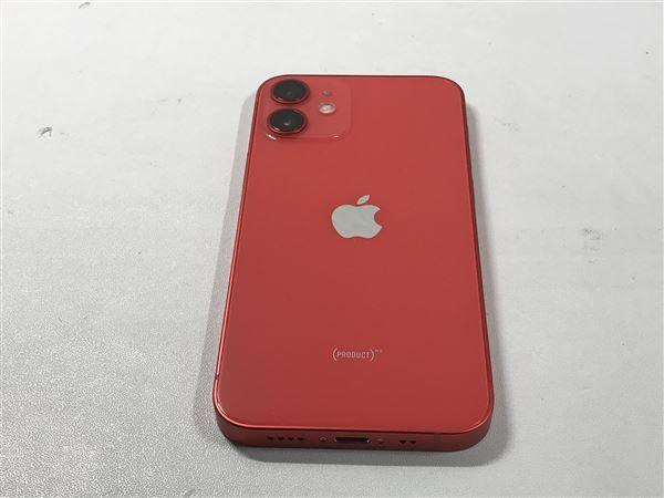 【中古】【安心保証】 iPhone12mini[64GB] au MGAE3J PRODUCTRED