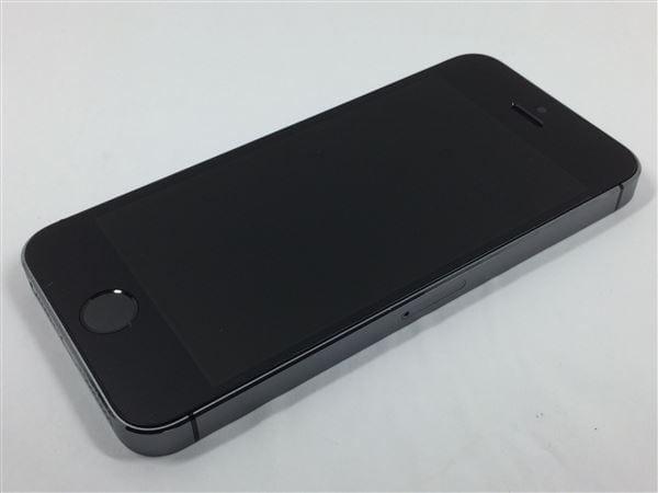 【中古】【安心保証】 iPhone5s[32GB] docomo ME335J スペースグレイ