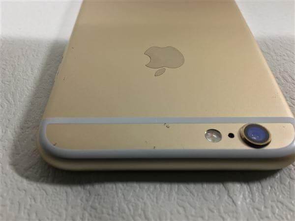 【中古】【安心保証】 iPhone6[128GB] au NG4E2J ゴールド