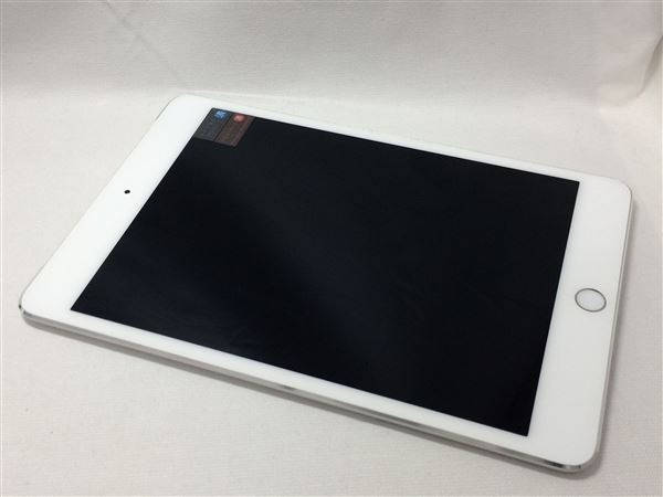【中古】【安心保証】 iPadmini4 7.9インチ[16GB] セルラー au シルバー