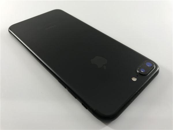 【中古】【安心保証】 iPhone7Plus[128GB] au MN6F2J ブラック