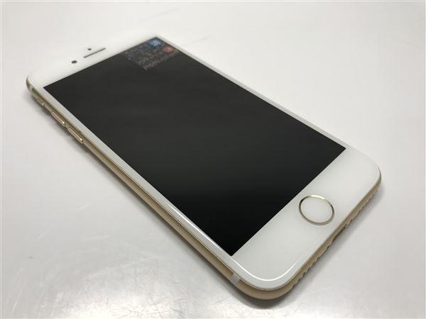 【中古】【安心保証】 iPhone7[32GB] au MNCG2J ゴールド