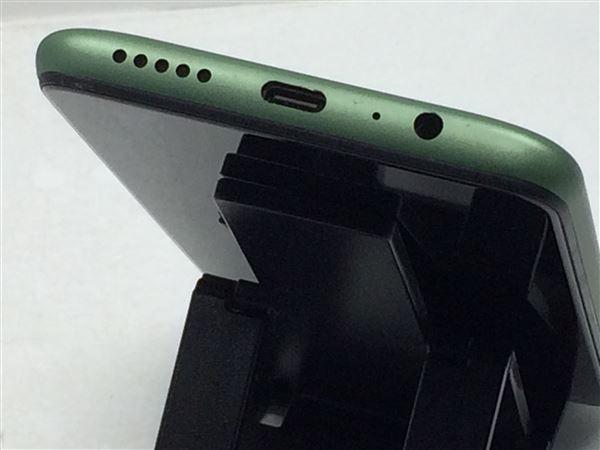 【中古】【安心保証】 SIMフリー UMIDIGI Power3[64G] ミッドナイトグリーン