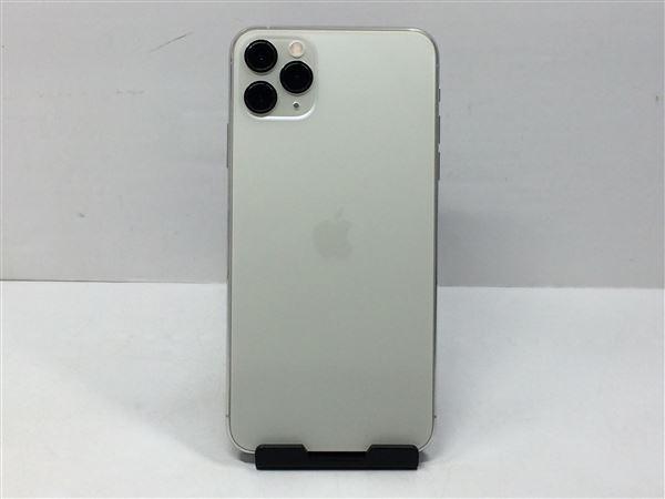【中古】【安心保証】 iPhone11 Pro Max[256GB] SIMフリー シルバー