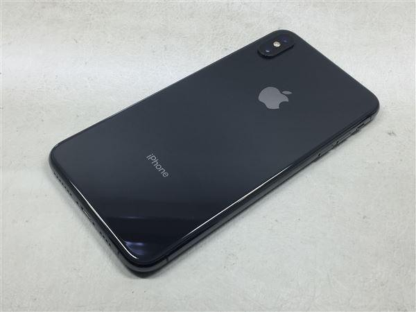 【中古】【安心保証】 iPhoneXSMax[64GB] SIMロック解除 docomo スペースグレイ