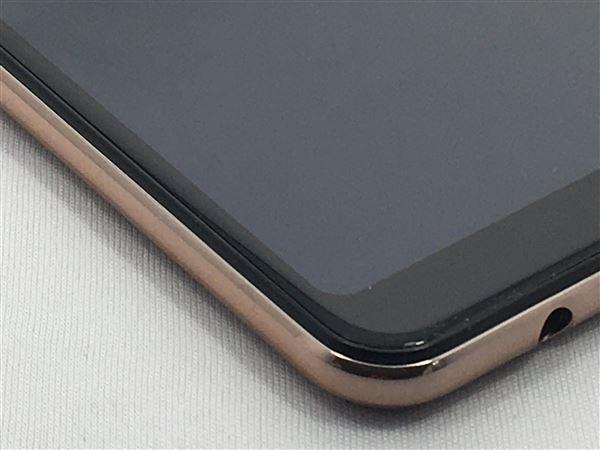 【中古】【安心保証】 楽天モバイル Galaxy A7 ゴールド