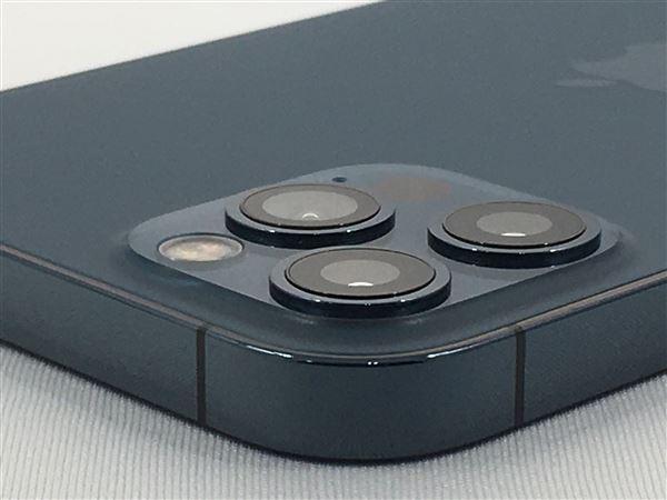 【中古】【安心保証】 iPhone12Pro[512GB] SIMロック解除 docomo パシフィックブルー