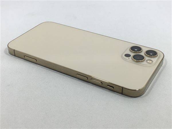 【中古】【安心保証】 iPhone12Pro[128GB] au MGM73J ゴールド