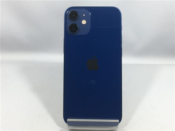 【中古】【安心保証】 iPhone12mini[64GB] docomo MGAP3J ブルー
