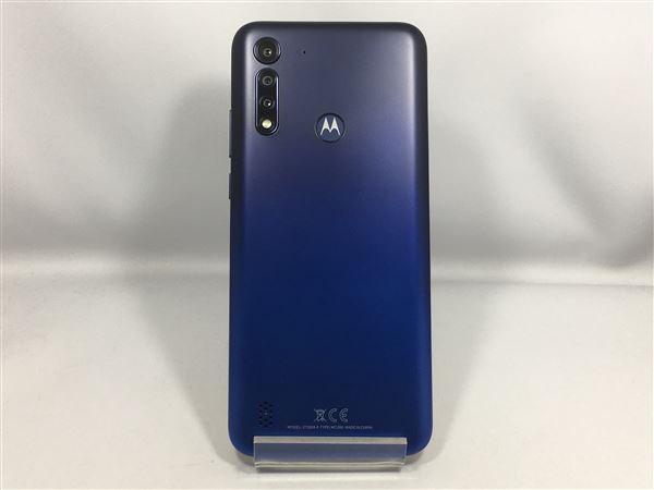 【中古】【安心保証】 SIMフリー Moto G8 powerlite[64G] ロイヤルブルー