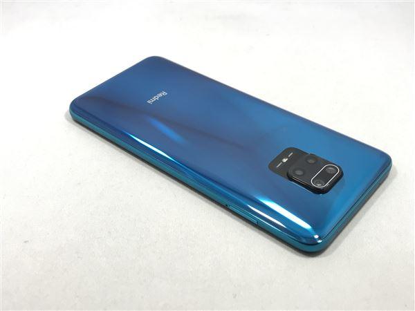 【中古】【安心保証】 SIMフリー Redmi Note 9S[64G] オーロラブルー