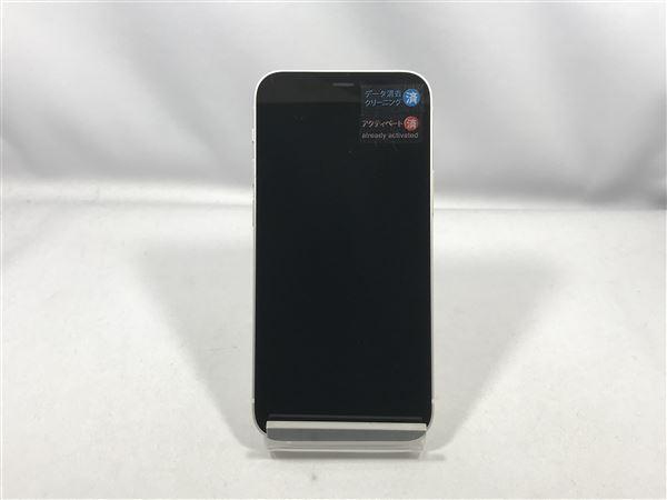 【中古】【安心保証】 iPhone12mini[64GB] docomo MGA63J ホワイト