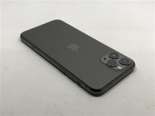 【中古】【安心保証】 iPhone11 Pro[64GB] docomo NWC22J スペースグレイ