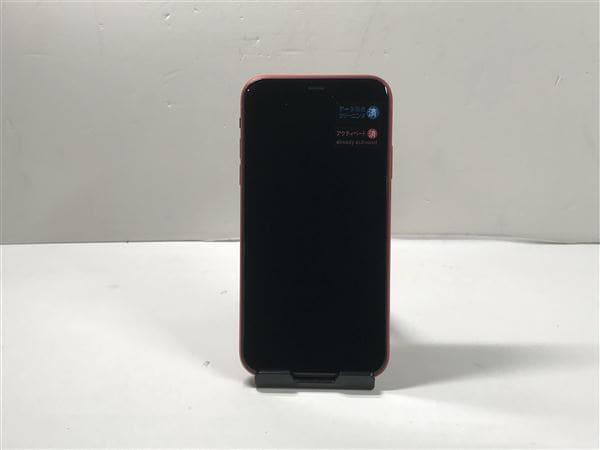 【中古】【安心保証】 iPhone11[64GB] docomo MWLV2J レッド